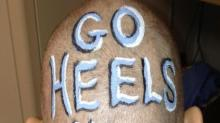 IMAGE: UNC fans, players root for coach's cancer recovery