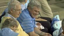 Fans at UNC women's basketball game