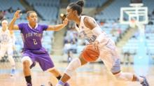 IMAGES: UNC women top High Point in front of Hatchell