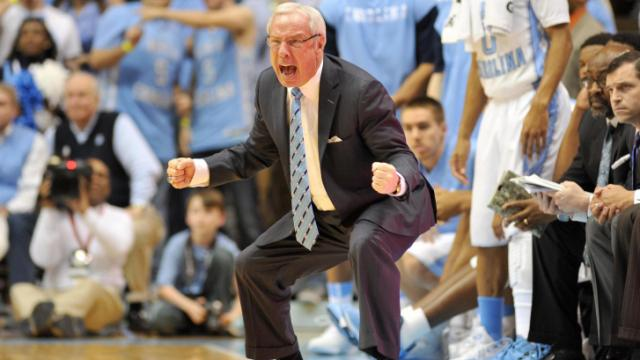 UNC head coach Roy Williams during action at the Dean E. Smith Center  between the. Chapel Hill d9c65ef8b