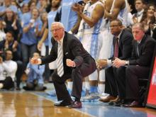 UNC head coach Roy Williams during action at the Dean E. Smith Center between the North Carolina Tar Heels and the Notre Dame Fighting Irish on March 3, 2014 in Chapel Hill, NC. (Will Bratton/WRAL contributor)