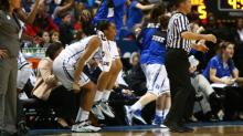 IMAGES: Duke comes back to top UNC, 66-61