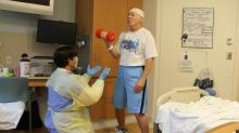 IMAGES: UNC's Hatchell kept positive during fight with cancer