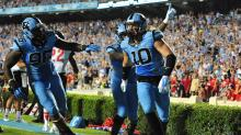 IMAGES: Images: UNC pulls away from Liberty, 56-29
