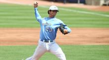 IMAGES:  UNC outlasts Virginia Tech 5-3 to advance at ACC tournament