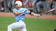 IMAGES: UNC holds off Virginia Tech 5-3, advances to pool play