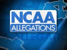 UNC Notice of Allegations graphic