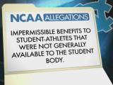 NCAA hits UNC with lack of institutional control