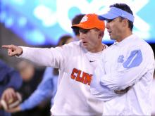 Tar Heels take on Clemson in ACC championship game