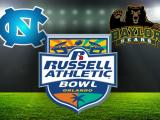UNC Baylor Russell Athletic Bowl Logo