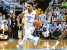Tar Heels top Yellow Jackets 86-78 with late surge