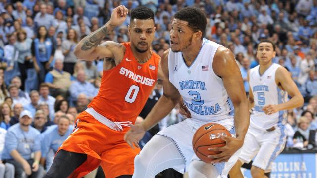 Unc Vs Syracuse By The Numbers Wralsportsfan Com