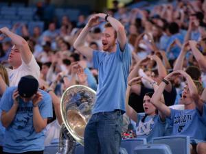 Final Four UNC Chapel Hill University (Photo By: Beth Jewell/WRAL Contributor)