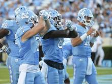 UNC offense comes alive in 56-28 win over James Madison
