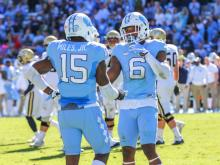UNC puts up big numbers in 48-20 rout of Georgia Tech