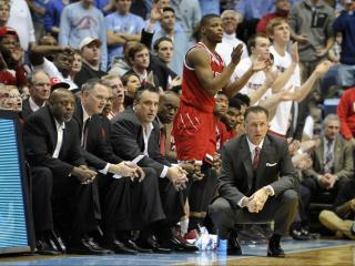 NC State head coach Mark Gottfried during NCAA basketball action at the Dean E. Smith Center between the North Carolina Tar Heels and the NC State Wolfpack on January 8, 2017 in Chapel Hill, NC. (Will Bratton/WRAL contributor)