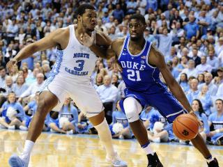 Amile Jefferson (21) during NCAA basketball action at the Dean E. Smith Center between the North Carolina Tar Heels and the Duke Blue Devils on March 4, 2017 in Chapel Hill, NC. (Will Bratton/WRAL contributor)