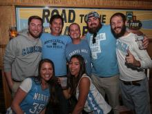 UNC fans celebrate win over Kentucky to reach Final Four