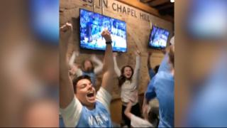 UNC bar explodes after Maye makes game-winning shot