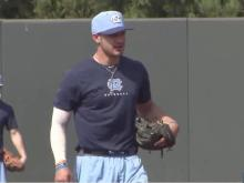 Fialko: UNC's Gahagan moving forward with baseball after health scare