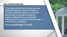 UNC's issues 'clearly the NCAA's business'