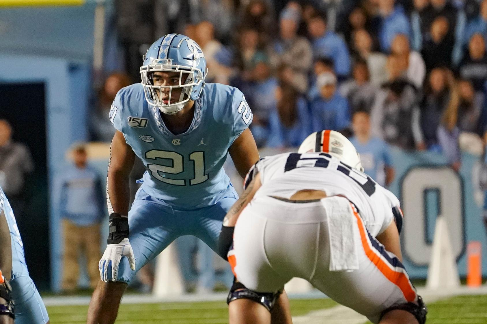 UNC's Surratt, in switch from QB to defense, only Triangle player ...