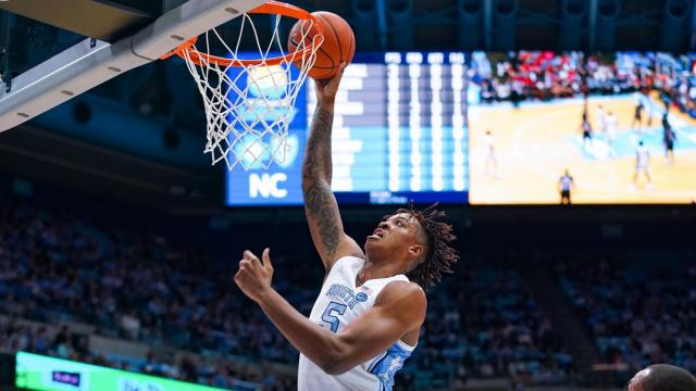 Unc Freshman Armando Bacot Leaves Ohio State Game With An