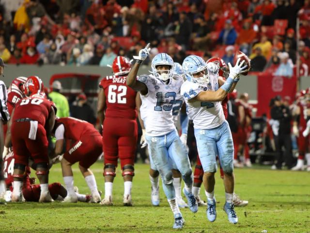 No. 23 NC State and No. 14 UNC preparing for first meeting as ranked rivals since 1993 :: WRALSportsFan.com