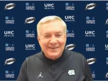 Mack Brown, UNC head coach