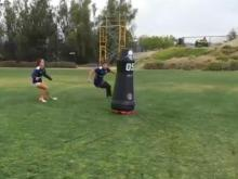 Teams hire robotic tackling dummies to reduce concussions
