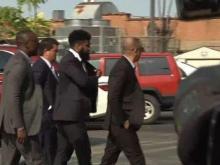 Cowboys' Ezekiel Elliott arrives at court to appeal suspension