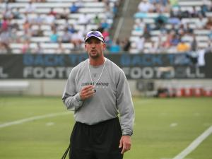 Carolina Panthers camp