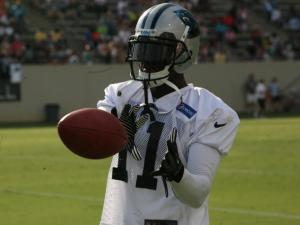 The Carolina Panthers held their fall workout camp in Spartanburg, S.C., on Saturday, July 28, 2012.