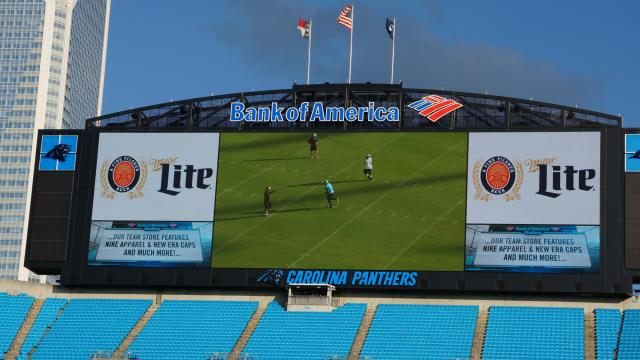 Thousands of fans came out Friday, July 25, 2014, for the Fan Fest event at Bank of America Stadium in Charlotte.