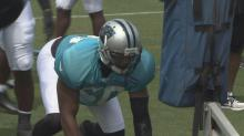 Former St. Aug DE Hall looking for second chance with Panthers