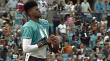 IMAGE: The fade helping Panthers' Underwood stand out among WRs