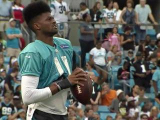 As the Carolina Panthers hit the midway point of their training camp in Spartanburg, S.C., they continue to integrate an entirely new crop of wide receivers into the offense. Tiquan Underwood stands out above the rest, however, and it has nothing to do with his ability to catch-and-run.