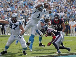 Texans Panthers Football