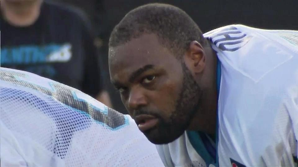 Carolina Panthers OL Michael Oher accused of assaulting Uber driver ...