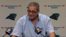 IMAGE: Panthers release GM Gettleman and NFL responds on Twitter