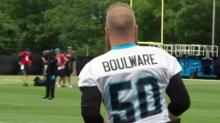 Boulware applies championship lessons at Panthers camp