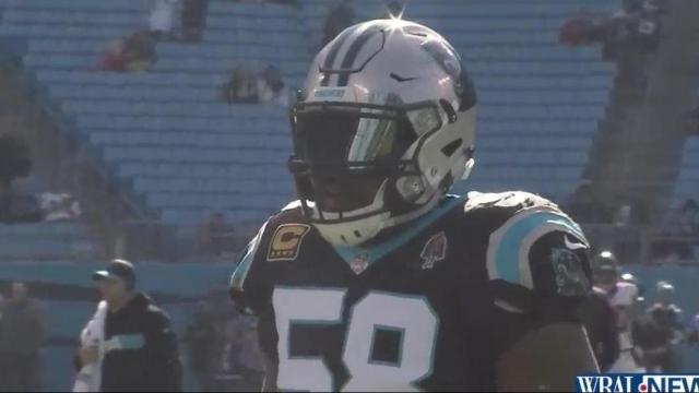 save off 3cb15 65dc9 Carolina Panthers will not bring back Thomas Davis in 2019 ...