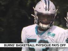 Panthers rookie looks like hoops star but will be valuable on defense