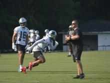 Panthers open 2021 training camp