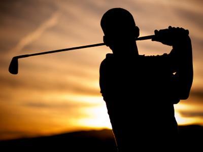 generic golf swing in silhouette wralsportsfancom