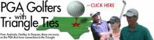 PGA Triangle golfers