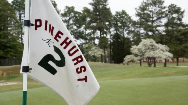 Pinehurst No. 2 readies for the US Open in June.