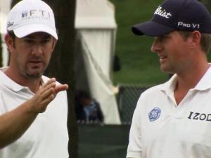 Webb Simpson's caddie, Paul Tesori, missed time form the golf course while he attended to a greater challenge with his son Isaiah who has struggled with complications since birth. This weekend, Isaiah is at Quail Hallow, making his debut and providing inspiration for Simpson and Tesori.