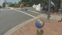 Southern Pines prepping for Open with tee'd up street decor