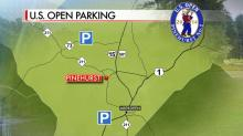 IMAGES: U.S. Open parking and directions
